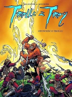 Okładka książki Opowieść o trollu