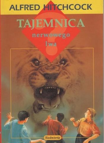 Okładka książki Tajemnica nerwowego lwa