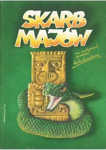 Okładka książki Skarb Majów. Na motywach powieści Jacka Londona