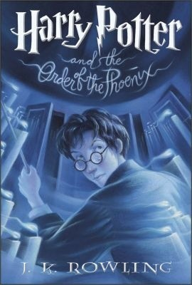 Okładka książki Harry Potter and the Order of the Phoenix