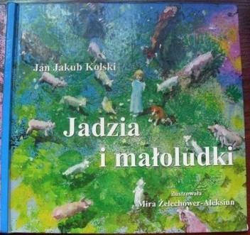 Okładka książki Jadzia i małoludki
