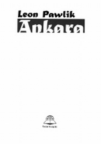 Okładka książki Ankara