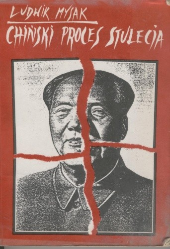 Okładka książki Chiński proces stulecia