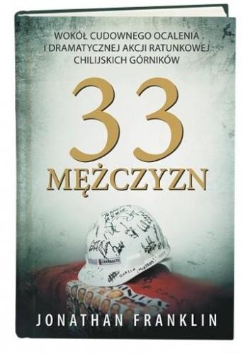 Okładka książki 33 mężczyzn