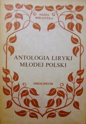 Okładka książki Antologia liryki Młodej Polski