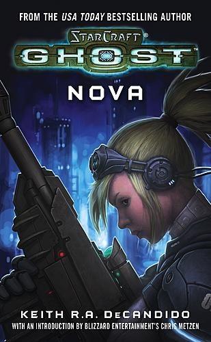 Okładka książki StarCraft: Ghost: Nova