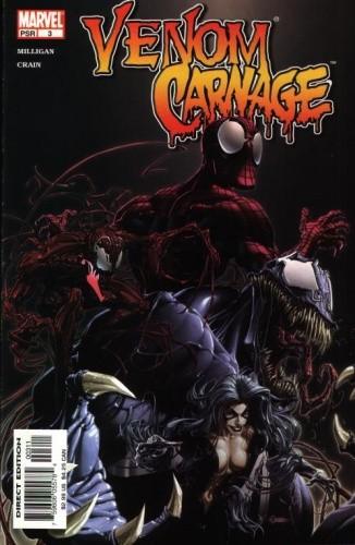 Okładka książki Venom/Carnage #03 - The Monster Inside Me
