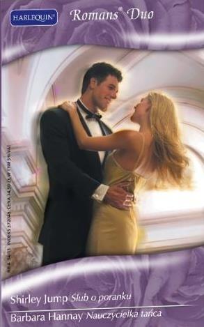 Okładka książki Ślub o poranku. Nauczycielka tańca