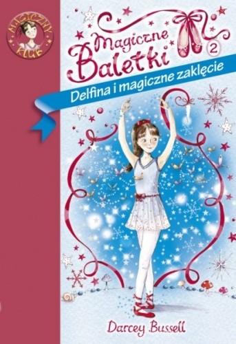 Okładka książki Delfina i magiczne zaklęcie