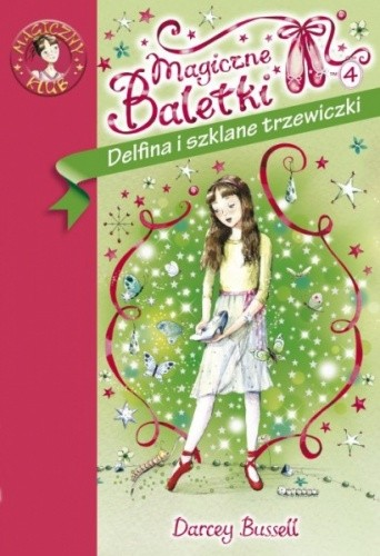 Okładka książki Delfina i szklane trzewiczki