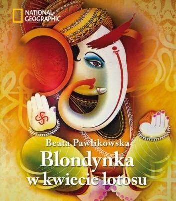 Okładka książki Blondynka w kwiecie lotosu