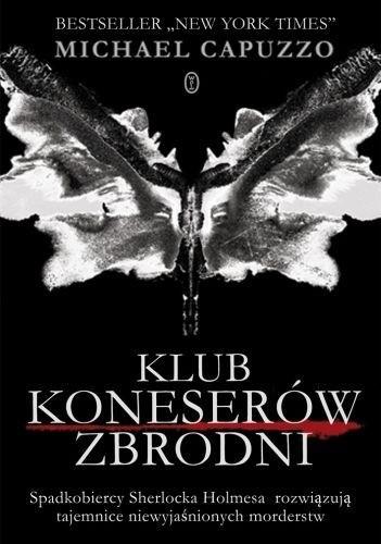 Okładka książki Klub Koneserów Zbrodni