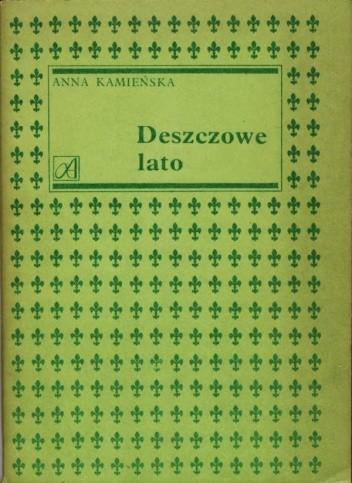 Okładka książki Deszczowe lato