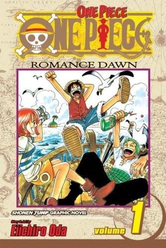 Okładka książki One Piece Volume 01