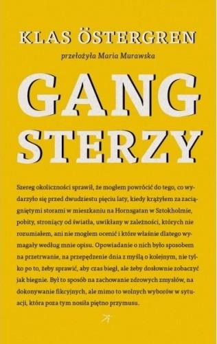 Okładka książki Gangsterzy