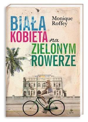 Okładka książki Biała kobieta na zielonym rowerze