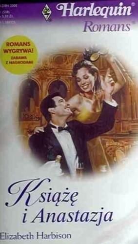 Okładka książki Książę i Anastazja