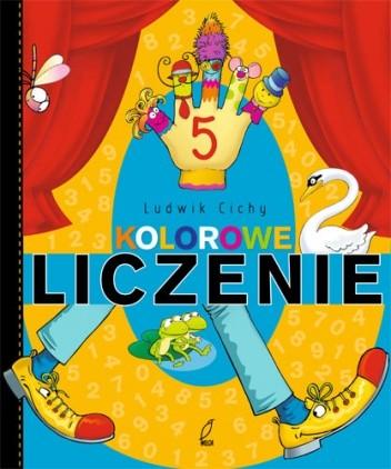 Okładka książki Kolorowe liczenie