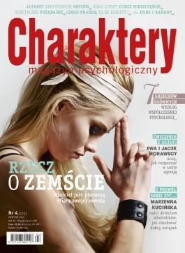 Okładka książki Charaktery 4 (171) / kwiecień 2011
