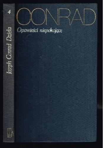 Okładka książki Opowieści niepokojące