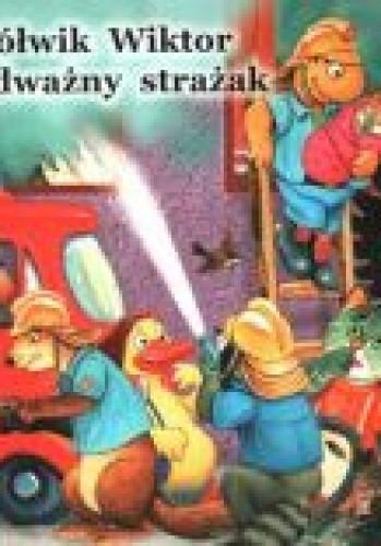 Okładka książki Żółwik Wiktor odważny strażak