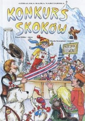 Okładka książki Konkurs skoków