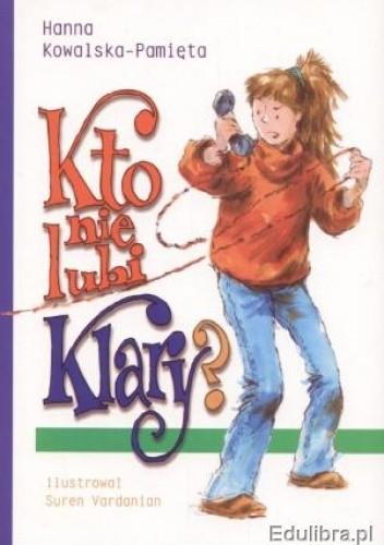 Okładka książki Kto nie lubi Klary