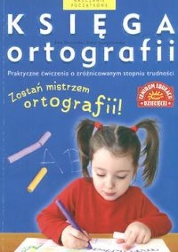 Okładka książki Księga ortografii /tania