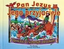 Okładka książki Pan Jezus i Jego przyjaciele Opowieści z ...