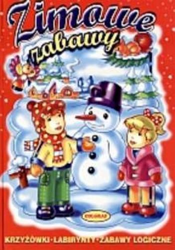 Okładka książki Zimowe zabawy