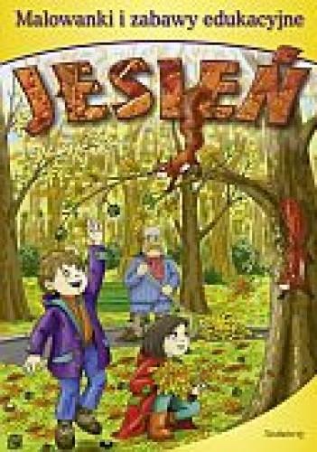 Okładka książki Jesień-malowanki  zabawy edukacyjne