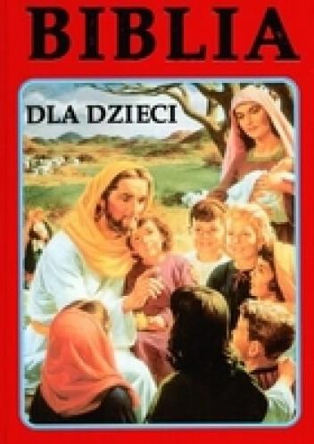 Okładka książki Biblia dla dzieci /2 wzory/