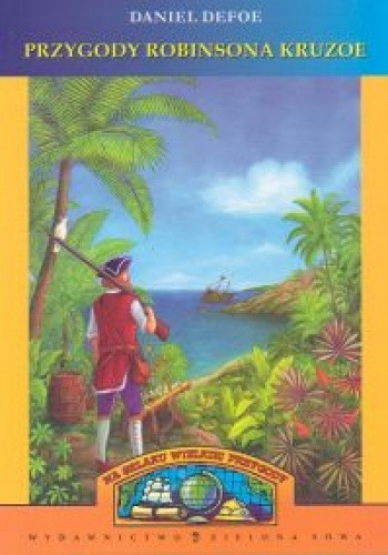 Okładka książki Przygody Robinsona Kruzoe
