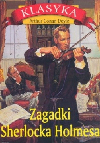 Okładka książki Zagadki Sherlocka Holmesa