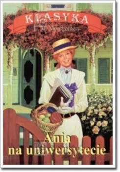 Okładka książki Ania na uniwersytecie
