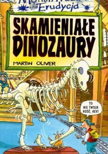 Okładka książki Skamieniałe dinozaury
