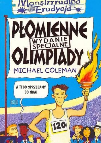 Okładka książki Płomienne Olimpiady