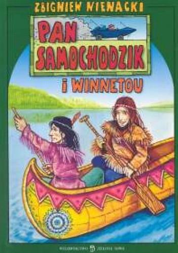 Okładka książki Pan Samochodzik i Winnetou