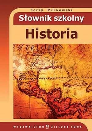 Okładka książki Słownik szkolny. Historia