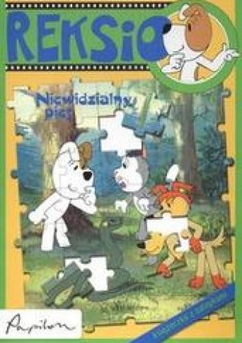 Okładka książki Reksio.Niewidzialny pies /Książeczka z naklejkami