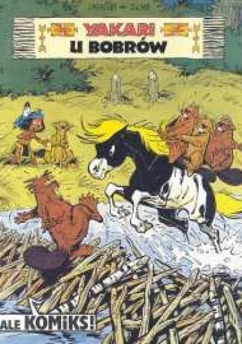 Okładka książki Yakari u Bobrów