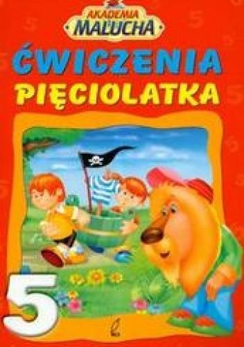 Okładka książki Ćwiczenia pięciolatka
