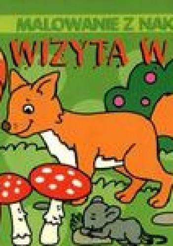 Okładka książki Wizyta w lesie. Malowanie z naklejkami
