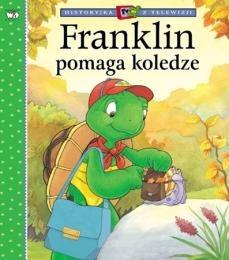 Okładka książki Franklin pomaga koledze