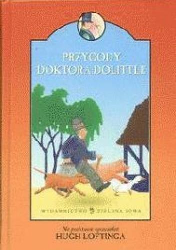 Okładka książki Przygody Doktora Dolittle