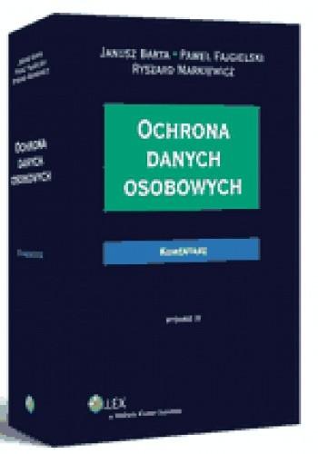 Okładka książki Ochrona danych osobowych. Komentarz