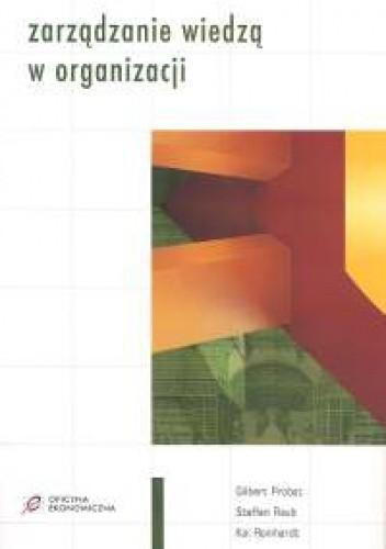 Okładka książki Zarządzanie wiedzą w organizacji