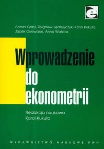 Okładka książki Wprowadzenie Do Ekonometrii