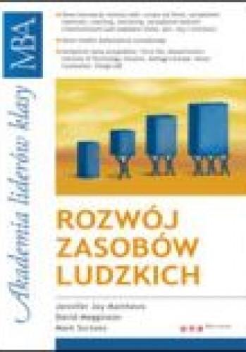 Okładka książki Rozwój zasobów ludzkich