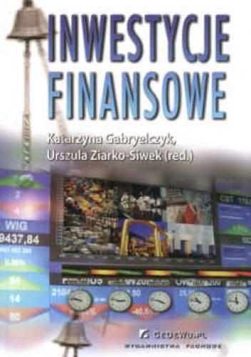Okładka książki Inwestycje finansowe